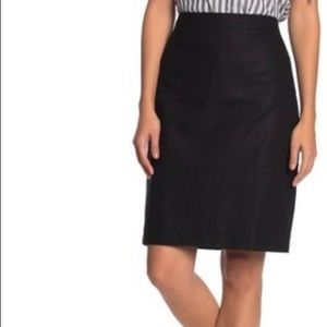 J. Crew Solid Pencil Skirt